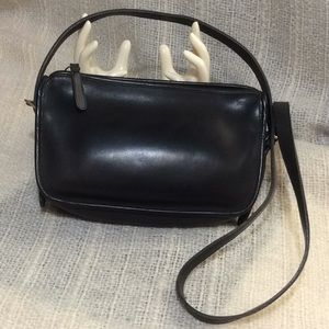 Leather Coach Purse - Vintage Cross Body